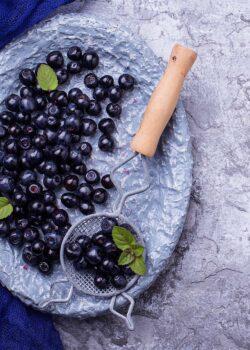 økologisk blåbær vilde svenske blåbær
