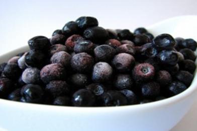 Økologiske vilde, svenske blåbær 2,5 kg.