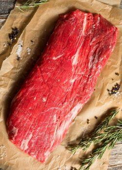 flank steak økologisk