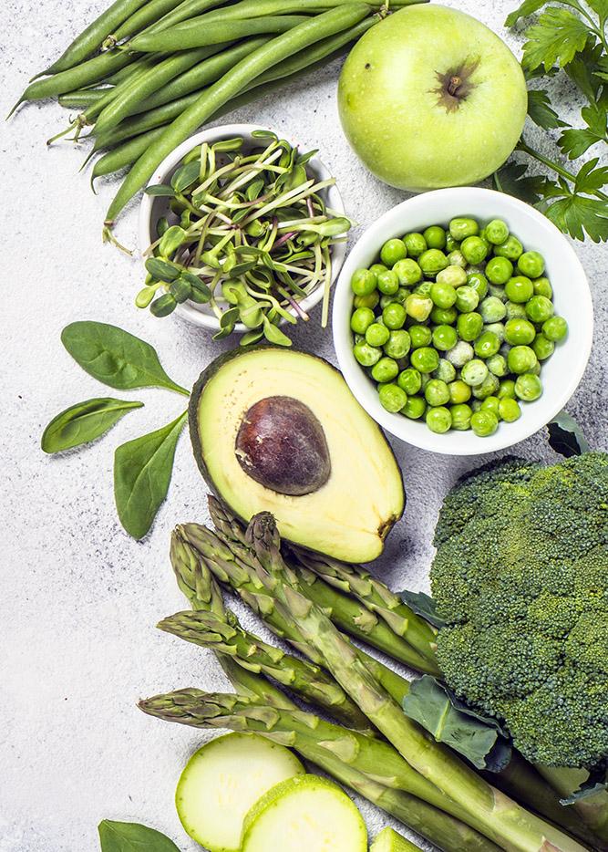 broccoli ærter bønner spinat økologisk gaardmester