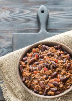 økologisk chili con carne