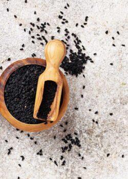 sorte sesam økologisk