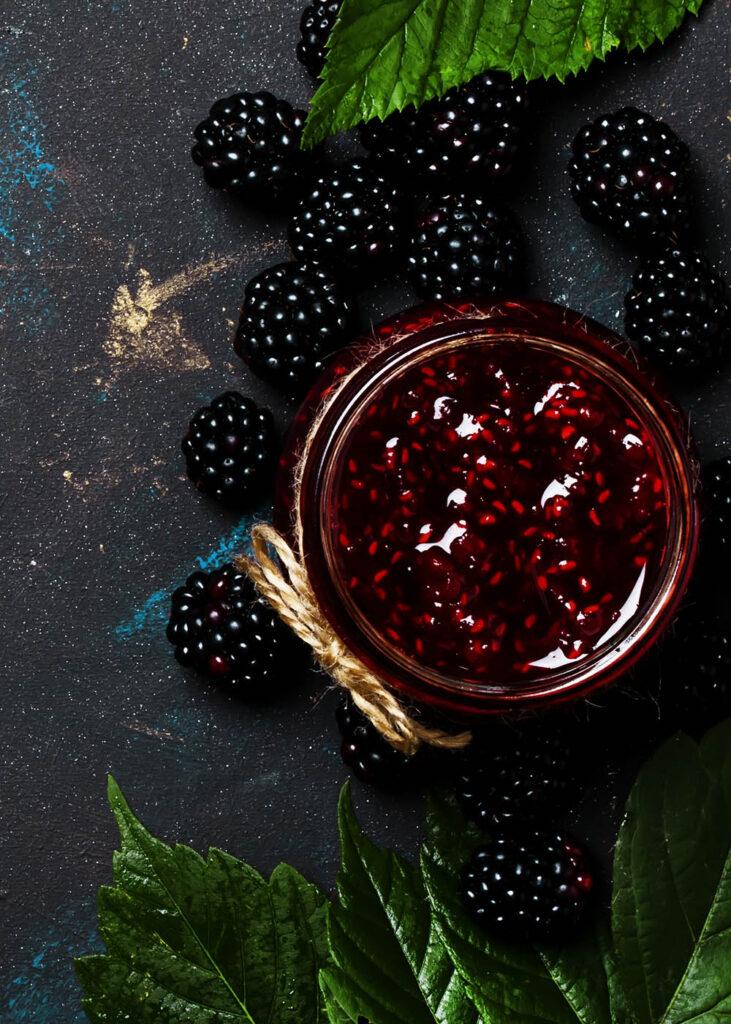 økologisk marmelade søbogaard brombær